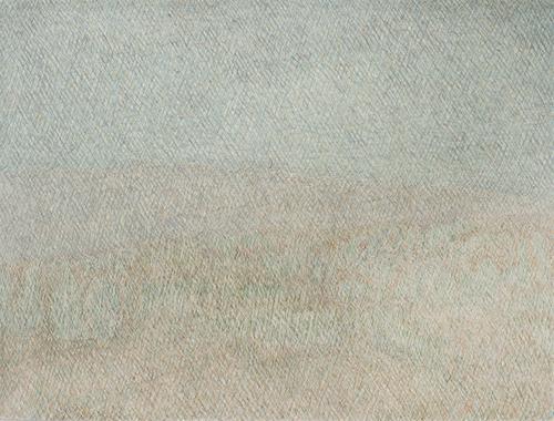 07 My lost paradise#7(Qasisaka2010),acrylic on paper,47 x 36cm,2013